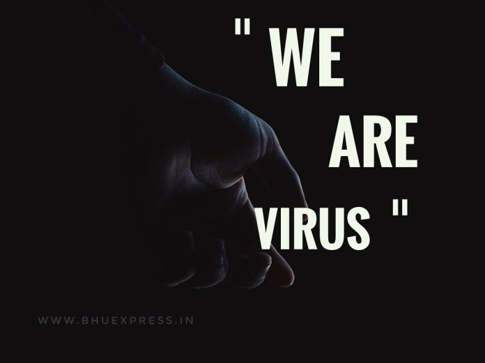 Nature is healing, We are virus