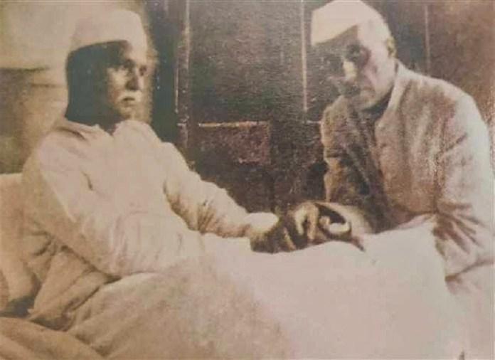 Pt. Jawahar Lal Nehru with Malviya ji