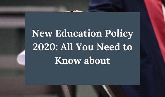 NEP 2020: New Education Policy