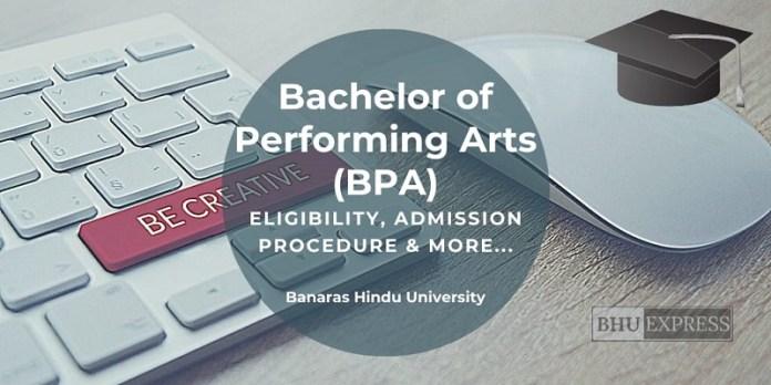 Bachelor of Performing Arts (BPA)