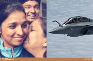 Shivangi Singh of Varanasi will be the first female pilot of Rafale