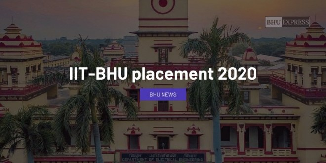 IIT BHU Placement 2020