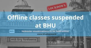 Offline classes suspended at BHU