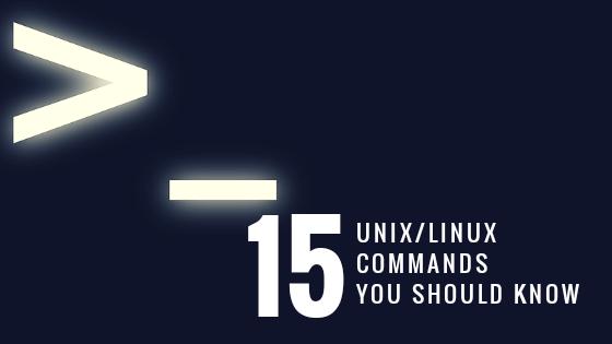 15 Linux Commands You Should Know
