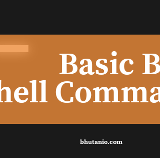 Basic Bash Shell Commands