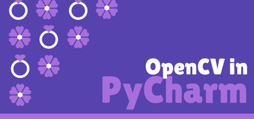 OpenCV in PyCharm