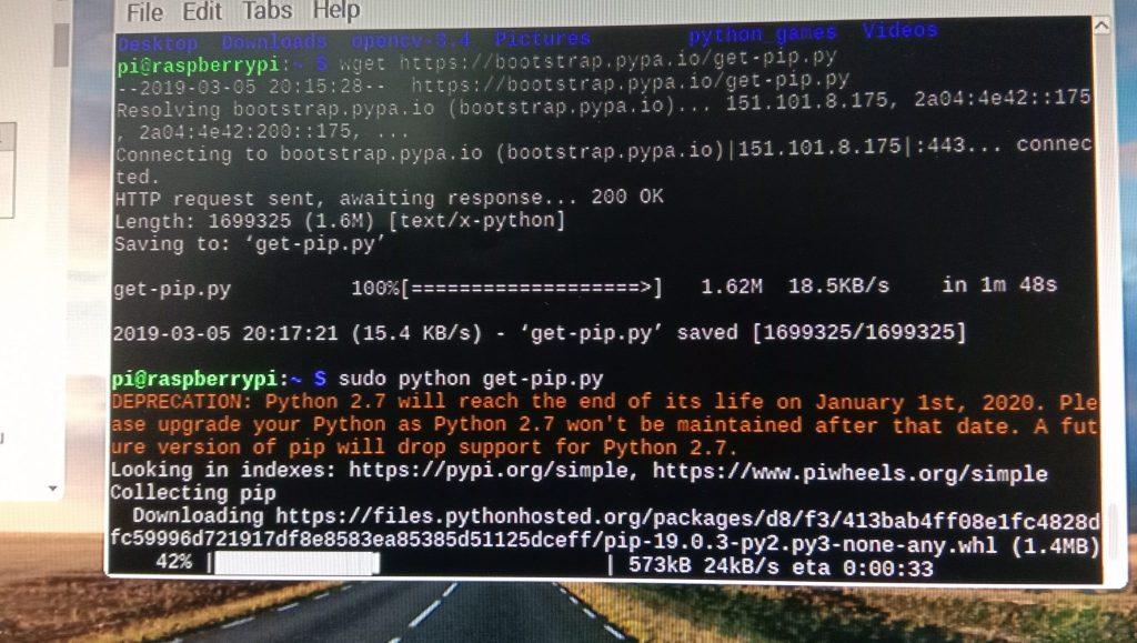 EOL of Python 2.7