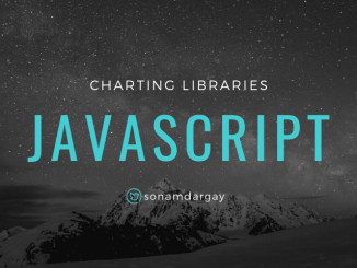 JavaScript Charting Libraries for 2020