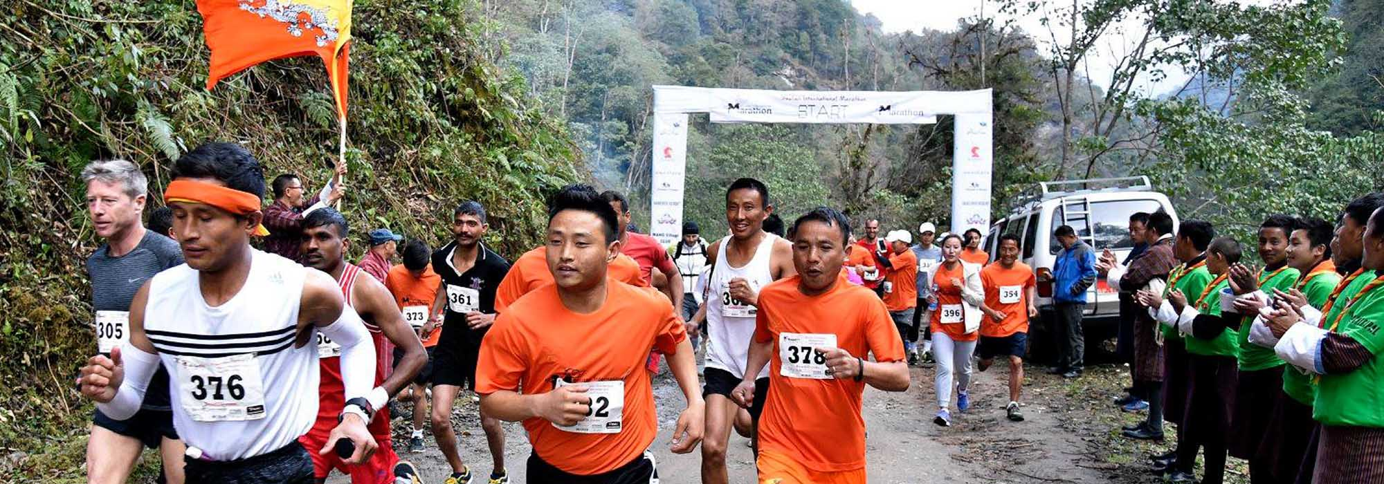 Bhutan International Marathon 2018