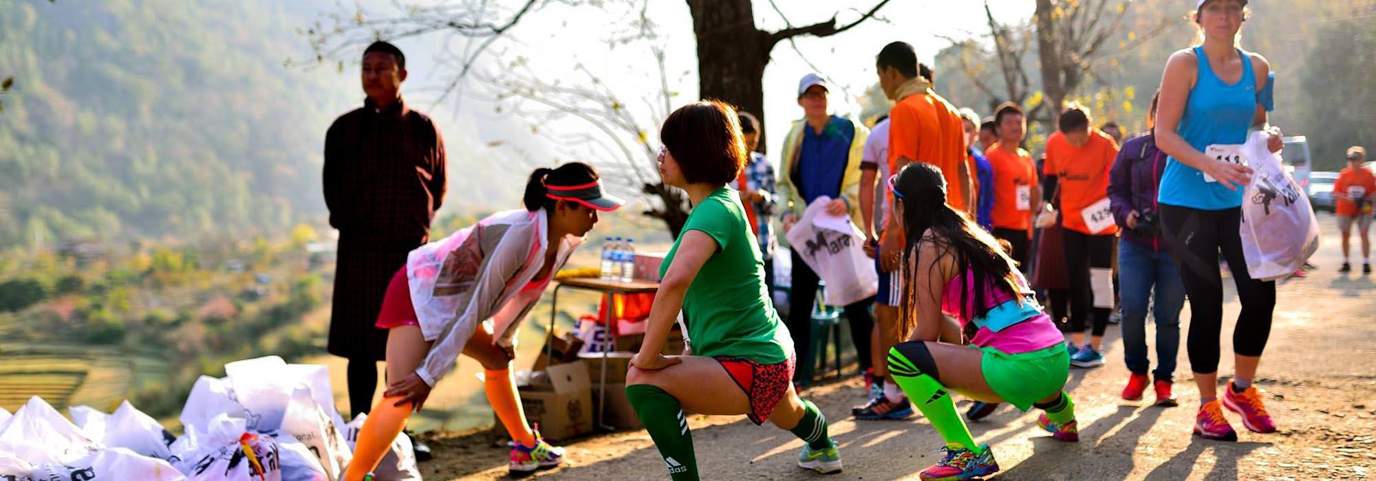 Bhutan International Half Marathon 2018