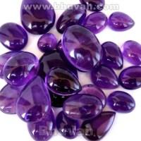 Amethyst Stone Cabochon Gemstone Price per Gram - Bhuvah