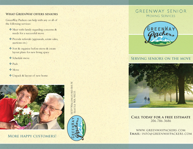 GreenWay Packers brochure (exterior)