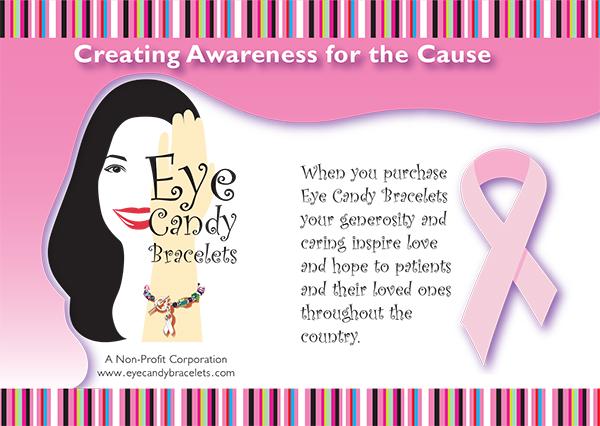 Eye Candy Bracelets postcard