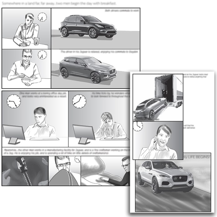 Storyboard for internal project