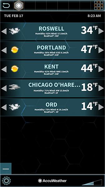 POC weather application