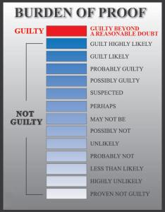 Visuals can help explain the burden of proof during voir dire and trial also reasonable doubt charts for lawyers rh bhwlawfirm