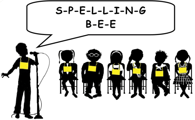 Spelling Bee New Words ( Second Round)