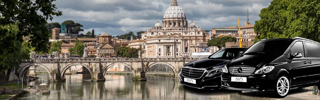 Quotation rent a car with personal driver in Rome