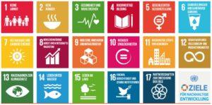 17 Ziele für nachhaltige Entwicklung