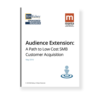 Audience Extension: A Path to Low Cost SMB Customer