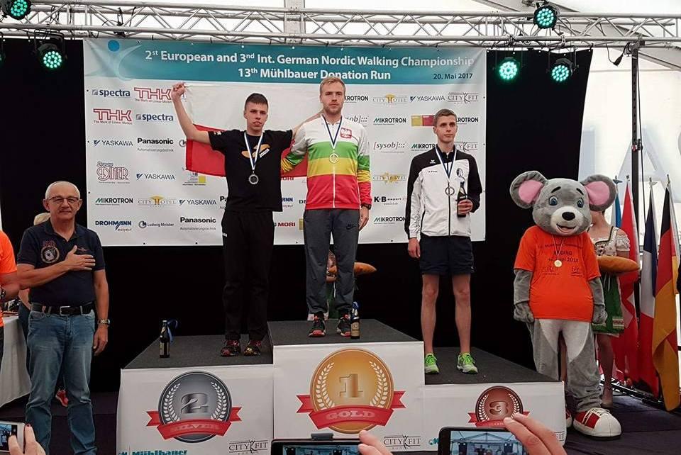 Piotr Wetoszka mistrzem Europy w Nordic Walking 10 km