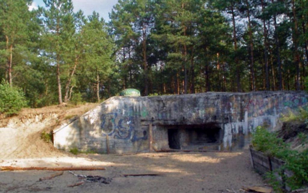 Niemieckie bunkry w Dąbrówce