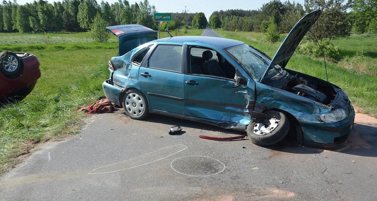 Kierował mając 2 promile i spowodował wypadek