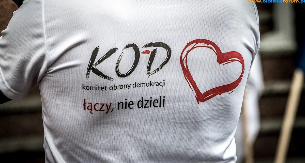 Europo Nie Odpuszczaj - Komitet Obrony Demokracji Biała Podlaska organizuje kolejny protest