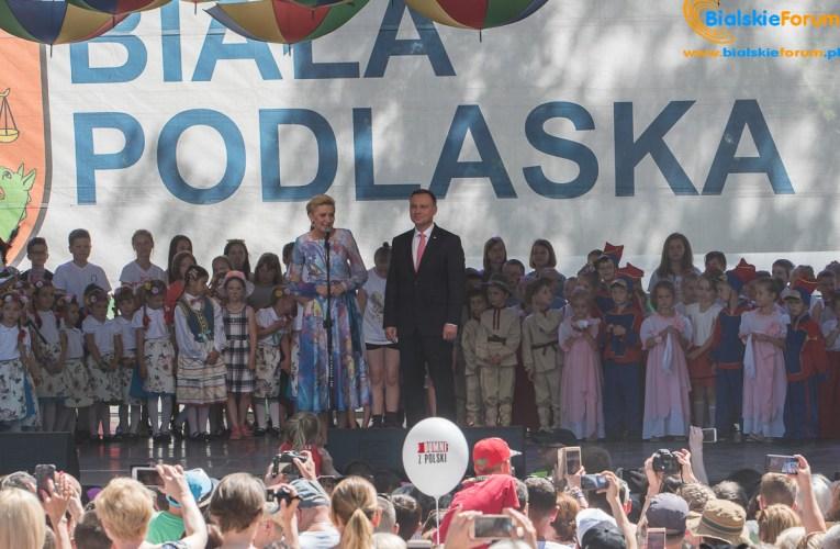 Prezydent Andrzej Duda w Białej Podlaskiej – aktualizacja z 08 lipca
