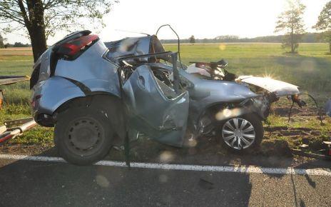 Tragedia na drodze w Bielanach - śmierć poniósł 19-letni mieszkaniec gm. Rossosz