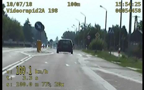 Stracili prawo jazdy za nadmierną prędkość