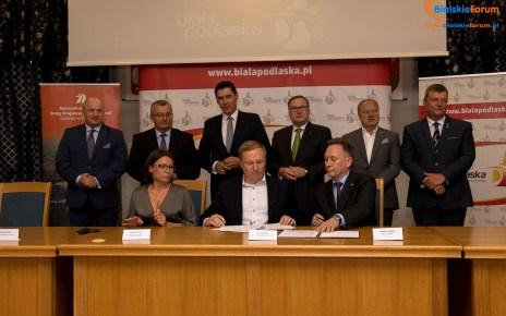 Podpisanie koncepcji programowej dla budowy autostrady A2 od Siedlec do Białej Podlaskiej