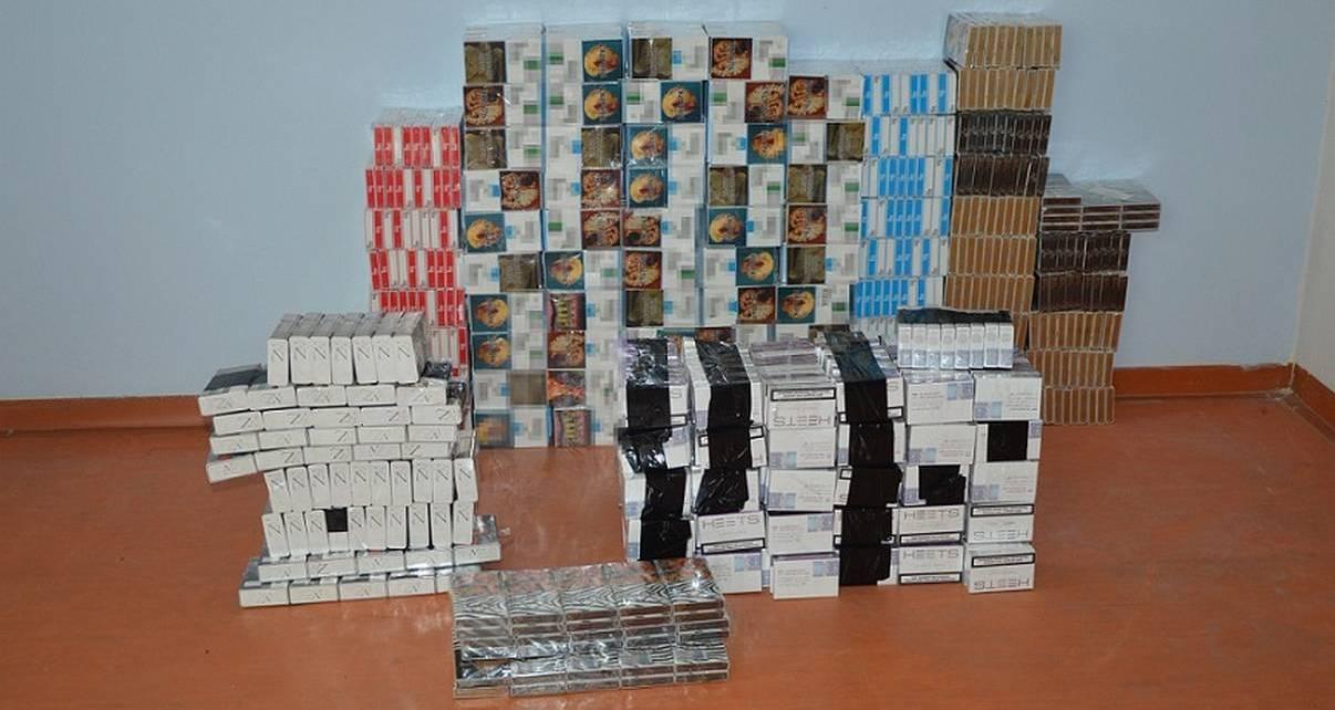 120 kartonów papierosów w garażu wynajmowanym przez Białorusina