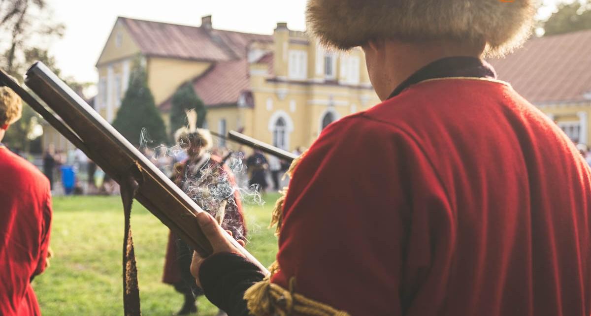 Obóz wojsk Stefana Czarnieckiego na ziemi konstantynowskiej
