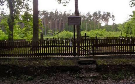 Zapomniany cmentarz wojenny z 1915 roku w okolicach Rokitna