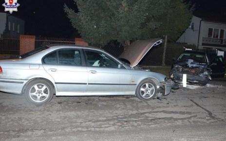 Kierowca BMW doprowadził do wypadku drogowego i uciekł