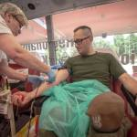 Podsumowanie tegorocznej zbiórki krwi przez Terytorialsów