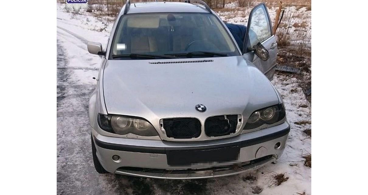 Zgłosił kradzież BMW - fakty były inne