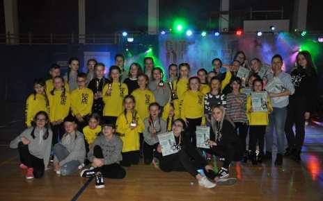 Tancerze DANCE ACADEMY STUDIO 14 krotnie stawali na podium