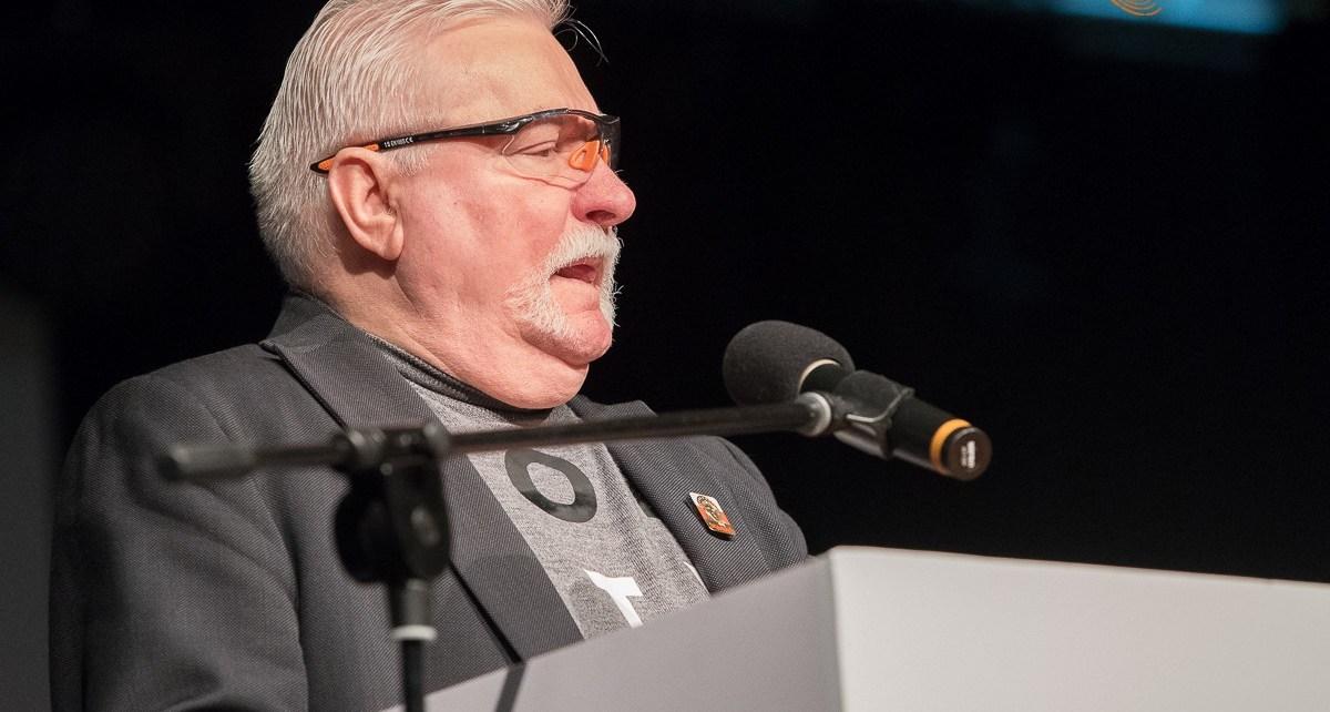Lech Wałęsa w Białej Podlaskiej