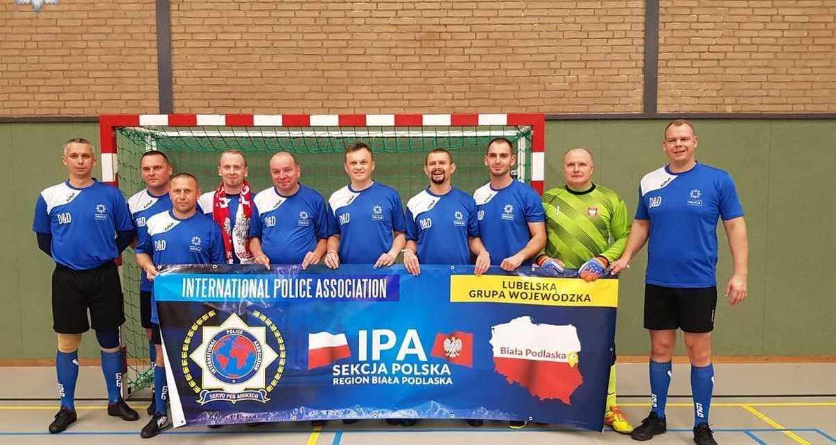 Bialscy policjanci na Mistrzostwach Świata Drużyn Policyjnych w Holandii