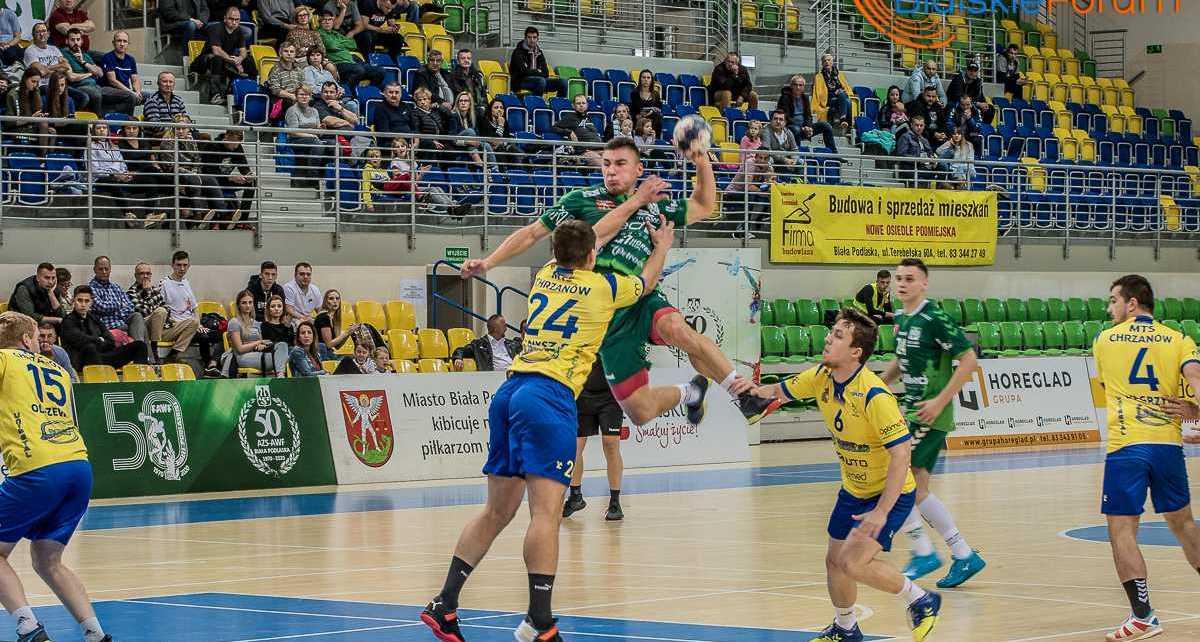 Piłka ręczna I liga: AZS AWF Biała Podlaska - MTS Chrzanów