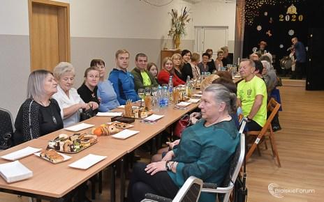 Spotkanie noworoczne członków i przyjaciół TKKF Krzna Biała Podlaska