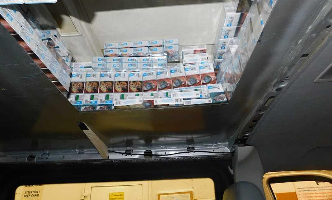 Kolejny Białorusin co nie wiedział, że wiezie 1500 kartonów nielegalnych papierosów