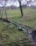 Prośba o pomoc w ustaleniu sprawcy uszkodzenia ogrodzenia w Cieleśnicy