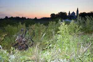 Wypadek motoparalotni w Leśnej Podlaskiej