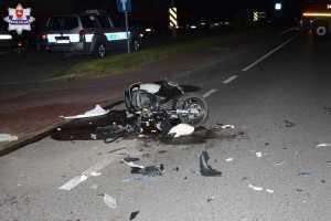 Śmierć motocyklisty w Międzyrzecu Podlaskim
