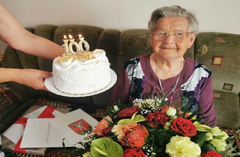 Setne urodziny bialczanki Pani Marianny Skiby