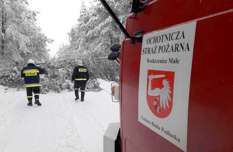 Ponad 100 interwencji – pracowity wtorek bialskich strażaków