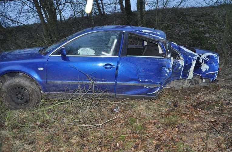 35-latka straciła panowanie nad autem – miała ponad 3 promile